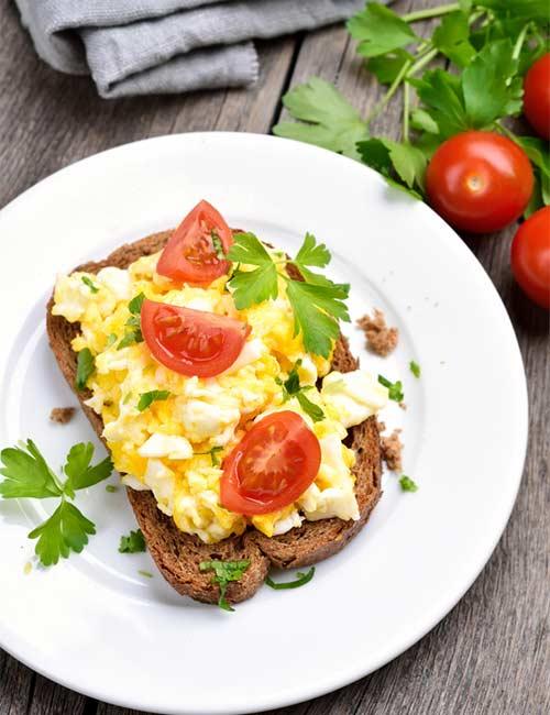 3. Egg White Omelette