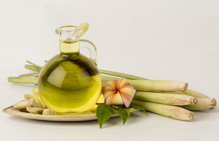 Essential Oils For Thyroid - Lemongrass Oil
