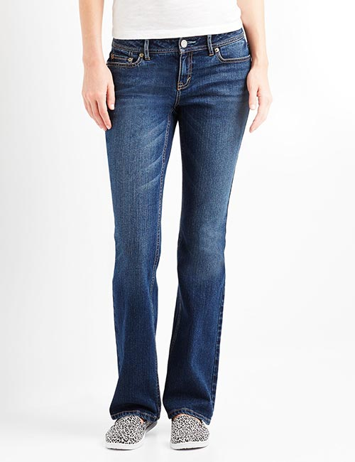 3. Low Rise Curvy Jeans