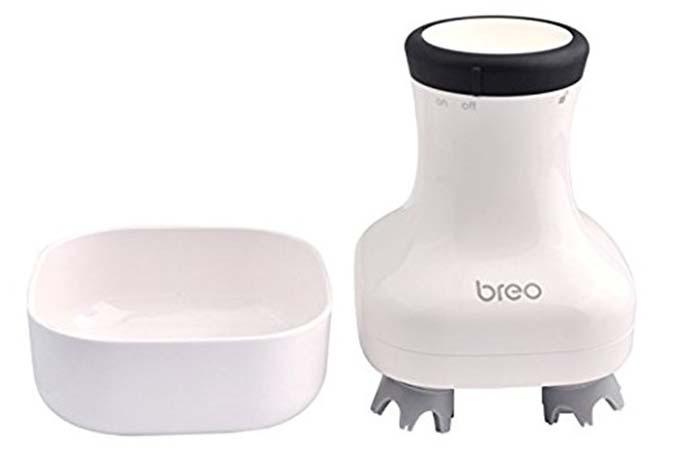 Best Head Massagers - Breo Handheld Scalp Massager