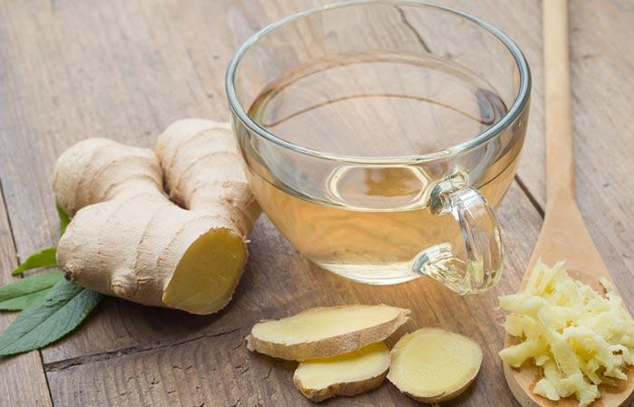 4. Ginger Tea