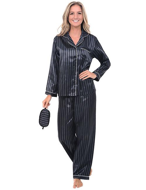 Best Women's Pajamas - Soft Satin Pajamas