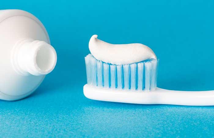 4. Toothpaste Pregnancy Test