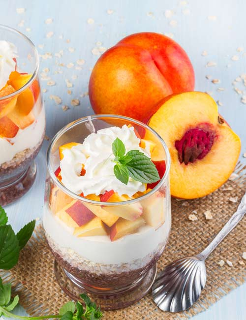 5. Chia, Fruit, And Yogurt