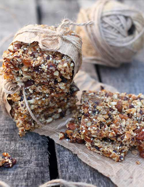 5. Homemade Low Sugar Protein Bars