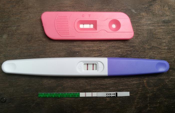 5. Strips Pregnancy Test