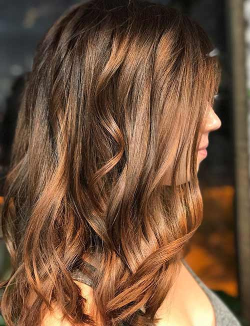 30 Best Shades Of Brown Hair - Bronze Brown Hair Color