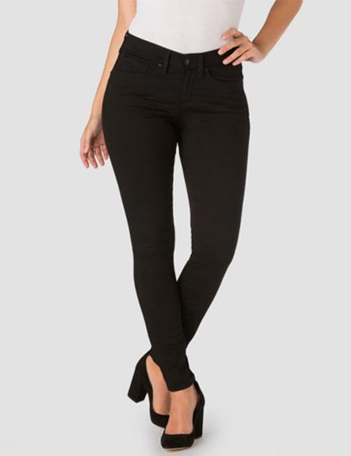 Best Comfortable Jeans For Curvy Women - High Waisted Black Jeans
