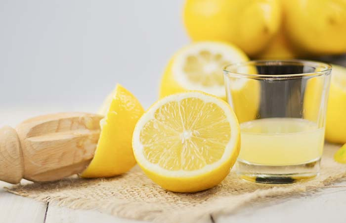 6. Lemon Juice