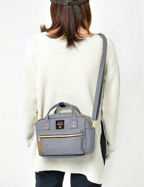 6. Nylon Adjustable Crossbody Bag