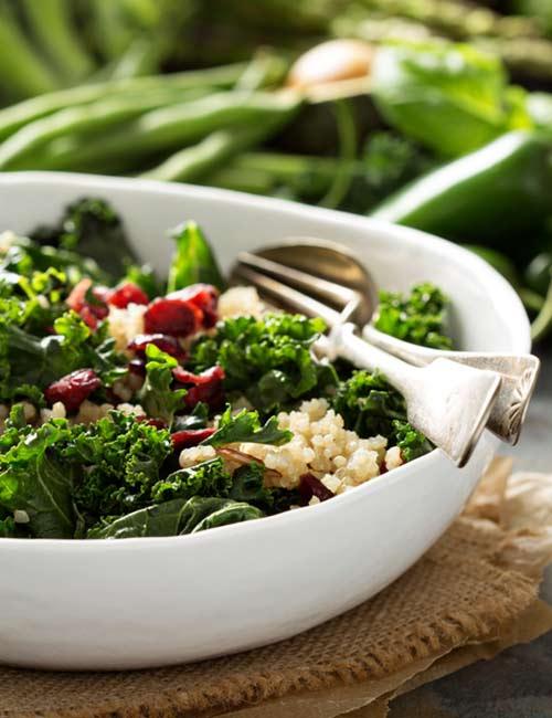 6. Quinoa Chia Salad