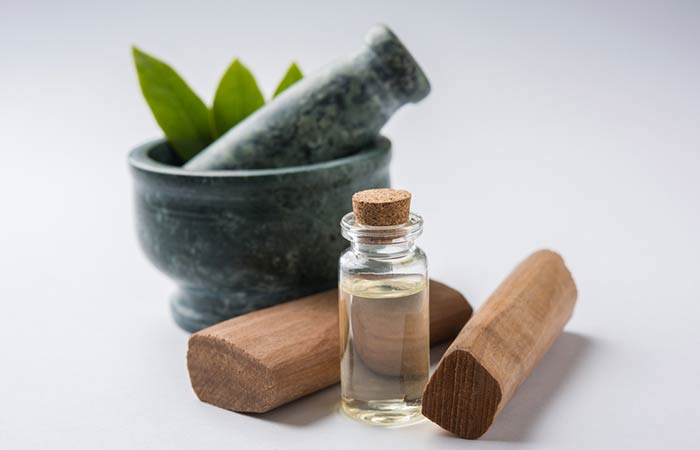 6. Sandalwood Oil