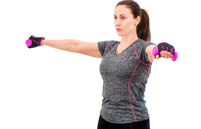 Armpit Fat - Standing 'V' Raise