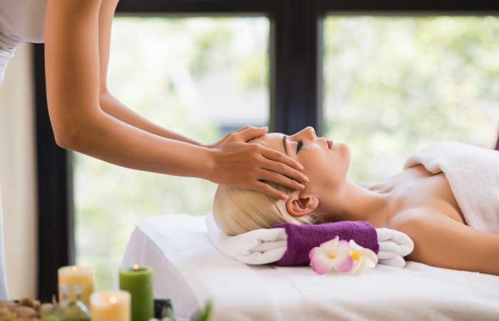 7. Massaging The Scalp Regularly