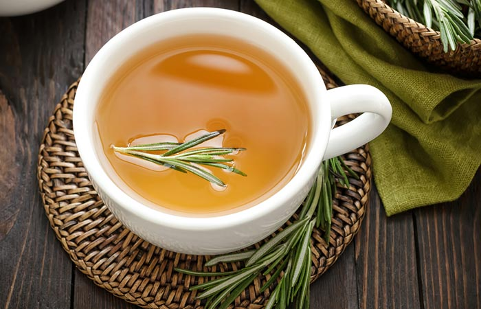 7. Rosemary Tea