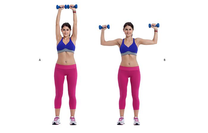 Armpit Fat - Shoulder Press