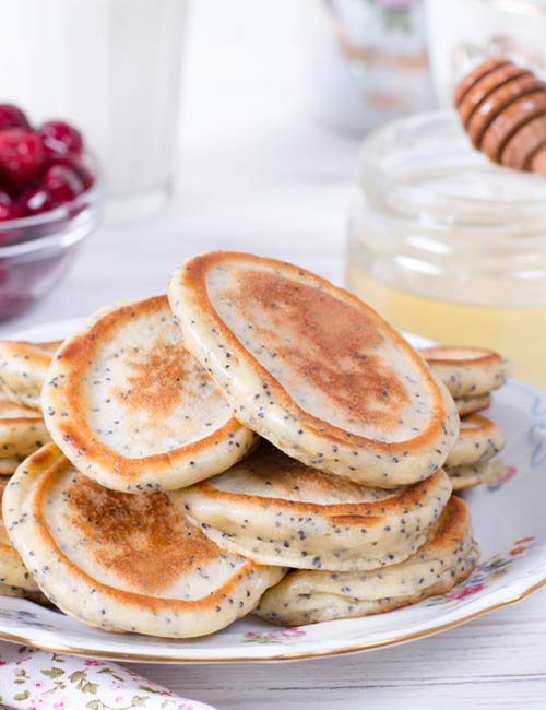 Chia Seed Banana Pancake - Chia Seeds For Weight Loss
