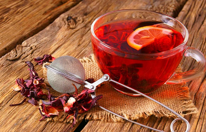 9. Pomegranate Tea