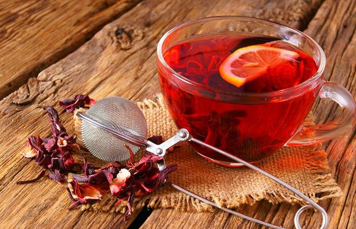 9. Pomegranate Tea