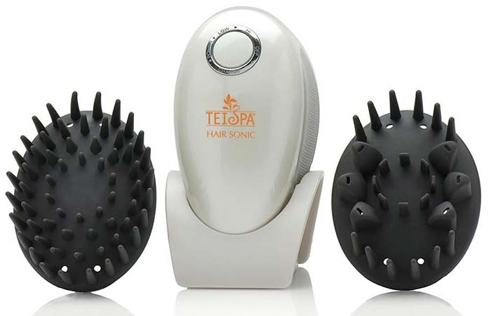 Best Head Massagers -  Tei Spa Scalp Cleansing And Massaging Tool Hair Sonic System