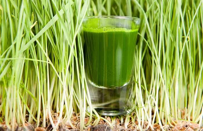 Molluscum Contagiosum - Wheatgrass Juice