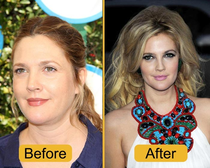 Barrymore Decide To Lose Weight