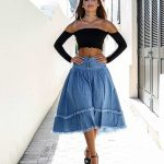 Cute Denim Skirt Outfit Ideas – 18 Different Ways To Style It