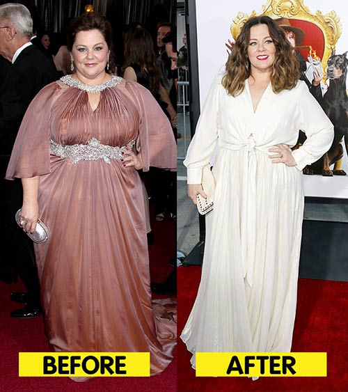 Melissa McCarthy Weight Loss - How Did AtraFen Weight Loss Aid Help Melissa McCarthy Lose Weight