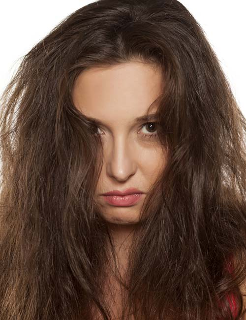 How To Air Dry ThickFrizzy Hair