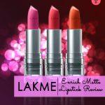 Lakme Enrich Matte Lipstick Review