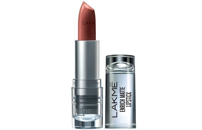 Lakme Enrich Matte Lipstick, Shade BM 11