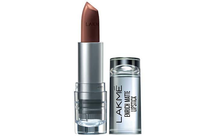 Lakme Enrich Matte Lipstick, Shade BM 12