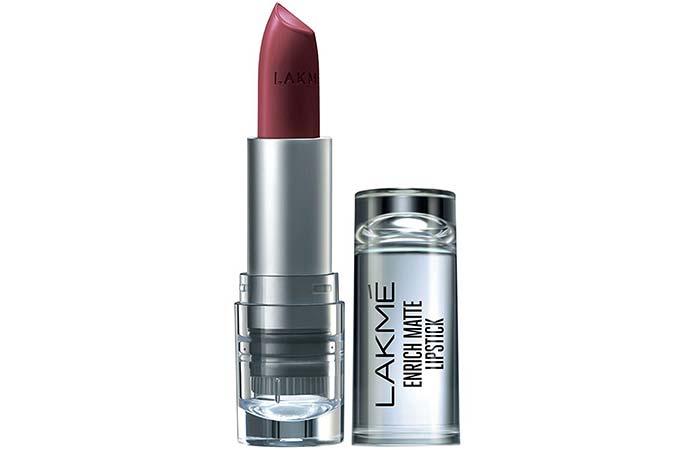 Lakme Enrich Matte Lipstick, Shade RM 10
