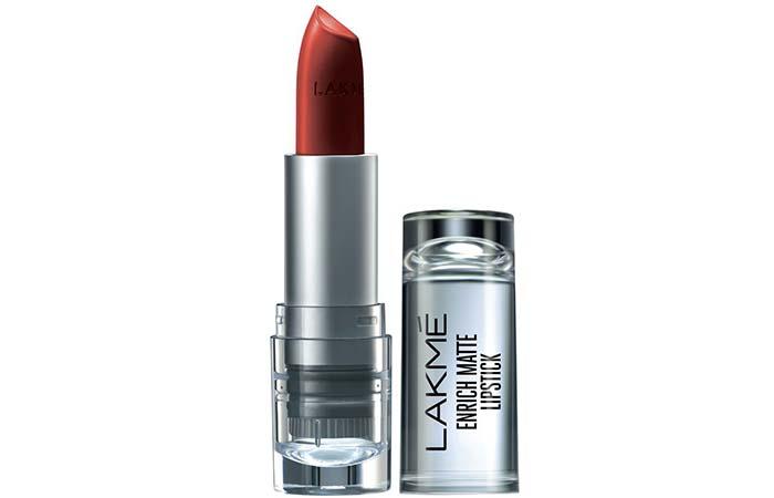 Lakme Enrich Matte Lipstick, Shade RM 12