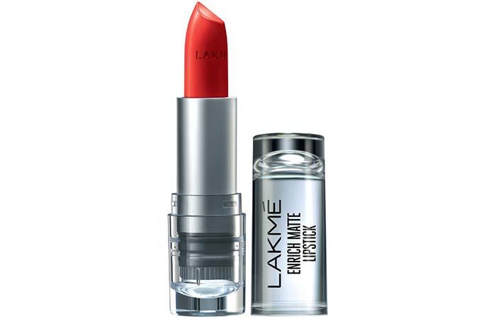 Lakme Enrich Matte Lipstick, Shade RM 14