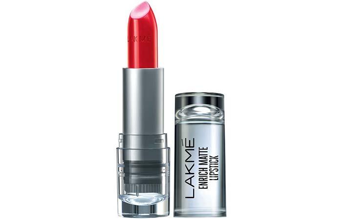 Lakme Enrich Matte Lipstick, Shade RM 18