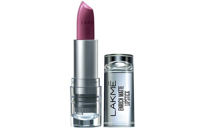 Lakme Enrich Matte Lipstick, Shade WM 10