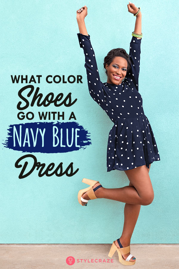 b3590c3e9cd Best Shoe Colors That Go With A Navy Blue Dress