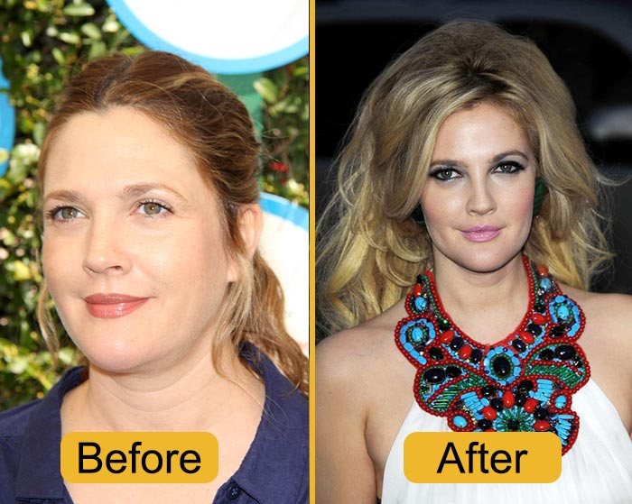 Why Did Drew Barrymore Decide To Lose Weight