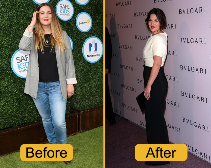 Why Did Drew Barrymore Gain Weight