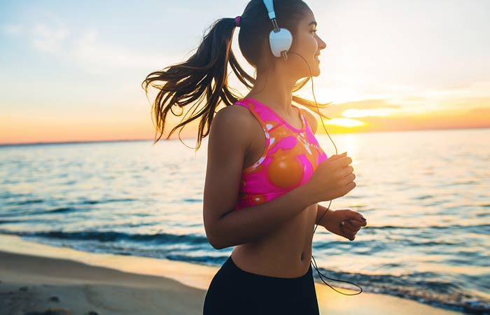How To Reduce Your Breast Size Naturally - Jogging