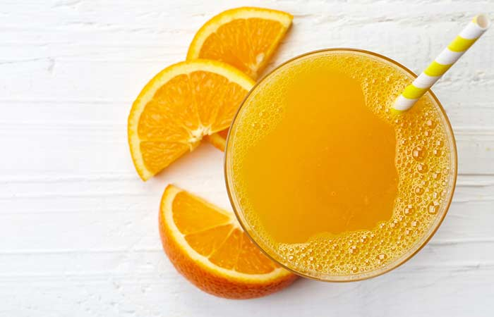 How To Get Rid Of A Black Eye Naturally - Orange Juice