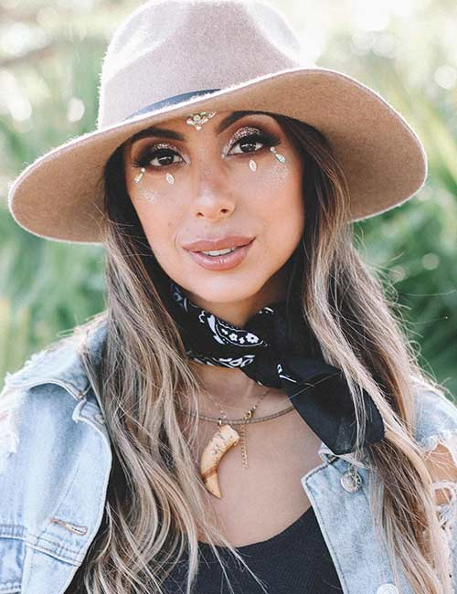 Coachella Outfit Ideas - Bandana, Hat, And Other Boho Accessories