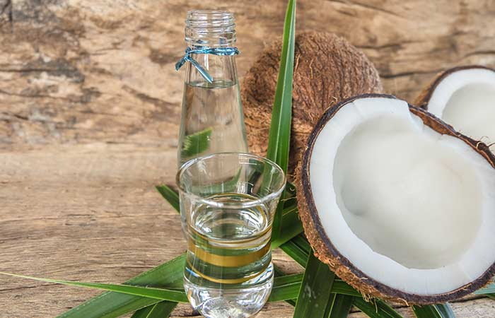 How To Get Rid Of A Black Eye Naturally - Coconut Oil