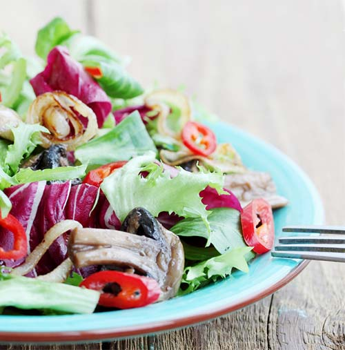 Wheat Belly Diet For Weight Loss - Pan Grilled Mushroom Salad