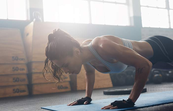 How To Reduce Your Breast Size Naturally - Push-ups
