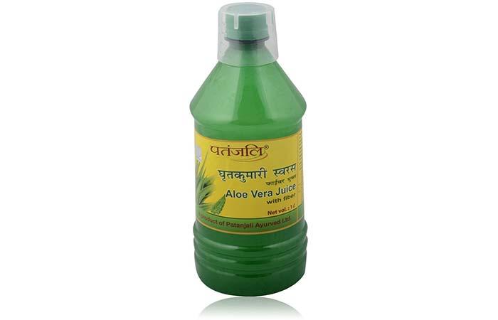 3. Patanjali Aloe Vera Juice