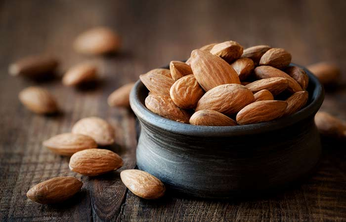 Vitamin D For Weight Loss - Almonds