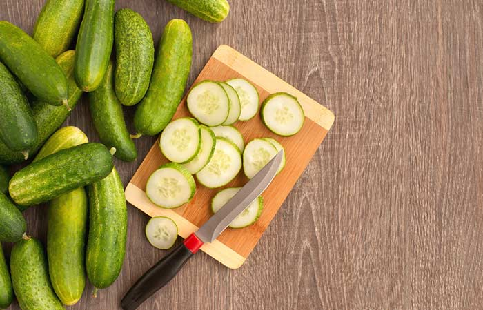 How To Get Rid Of A Black Eye Naturally - Cucumber