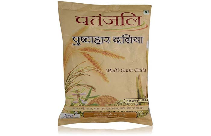 Best Patanjali Products For Weight Loss - Patanjali Pushtahar Dalia